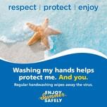 wash hands starfish