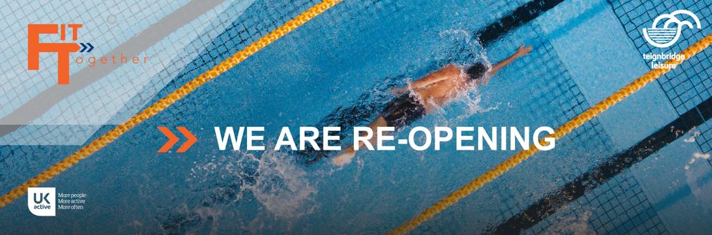 swimming pools reopening