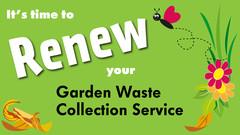 renew your garden waste licence