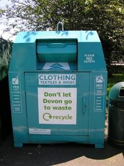 clothing recycling bank