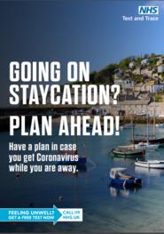 Staycation plan ahead