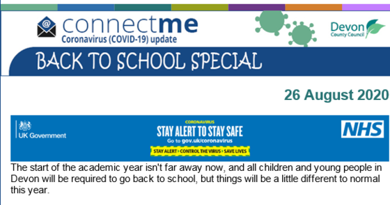 Devon County Council's back to school special