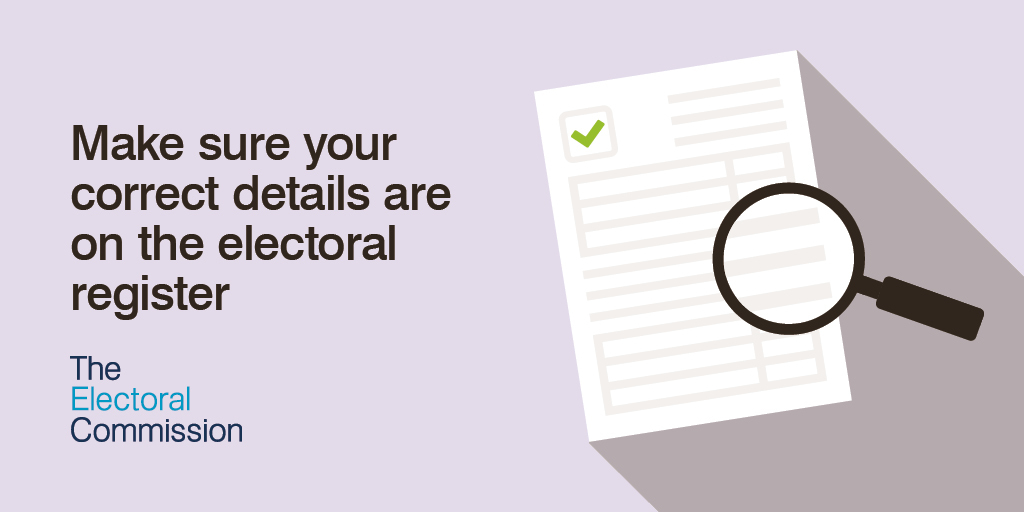 annual canvass - make sure your details on electoral register are correct