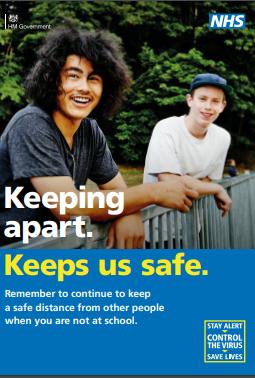 schools - keeping apart keeps you safe
