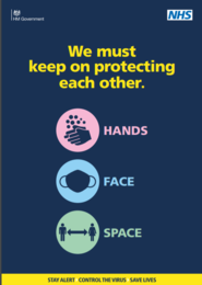 hands face space