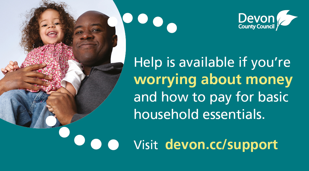 Devon county council hardship support