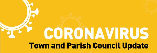 TDC Town Parish Councils Coronavirus Title
