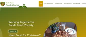 South Devon Food Alliance web header
