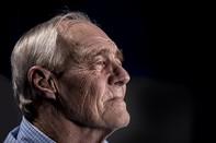 Face of an elderly man