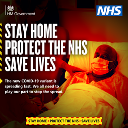 Stay home protect the NHS