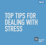 Top tips for dealing with stress