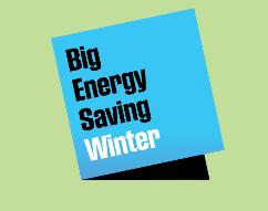 Big energy saving winter logo