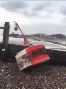 stranded buoy
