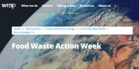 Food waste action week website