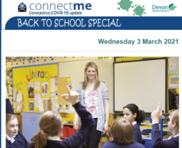 Devon County Council Back to School special newsletter