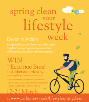 Spring clean your lifestyle week