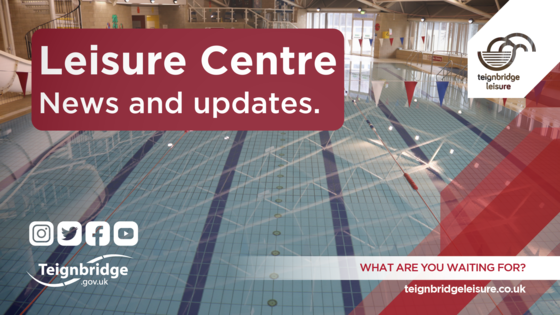 Image of swimming pool. Leisure centre news and updates.