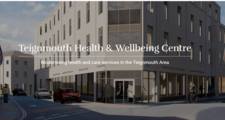 illustration of what the proposed health and wellbeing centre in Teignmouth could look like