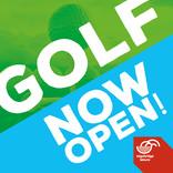 Golf now open