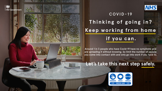 thinking of going in? Keep working from home if you can