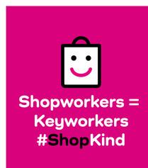 Shoop workers = key workers #ShopKind