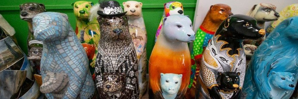 Moor otters