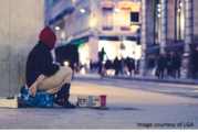 Homeless - courtesy of LGA