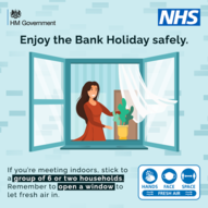enjoy this bank holiday safely