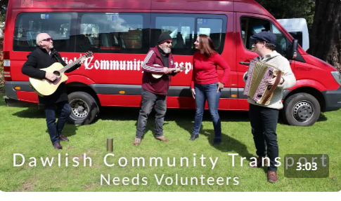 Maddy and the chaps featured in Dawlish transport new recruitment video