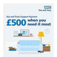 Test and Trace support payment.  £500 when you need it most