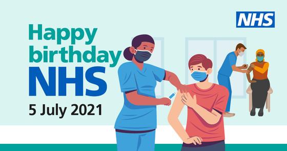 Happy birthday NHS 5 July