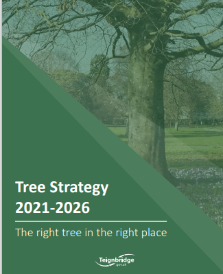 Tree strategy 2021 to 2026.  The right tree in the right place