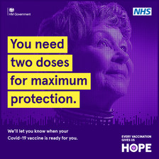 You need two doses for maximum protection