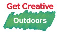 Get creative outdoors logo