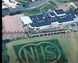 Hazledown Thank you NHS