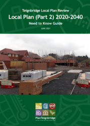 Local plan need to know document cover