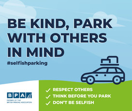 Be kind park with others in mind
