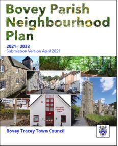 Bovey neighbourhood plan cover image