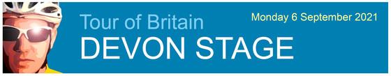 Tour of Britain Devon stage masthead
