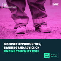 HM Government.  Discover opportunities, training and advice on finding your next role. Job Help.  We'll help you find it.