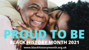 Proud to be.  Black History month 2021