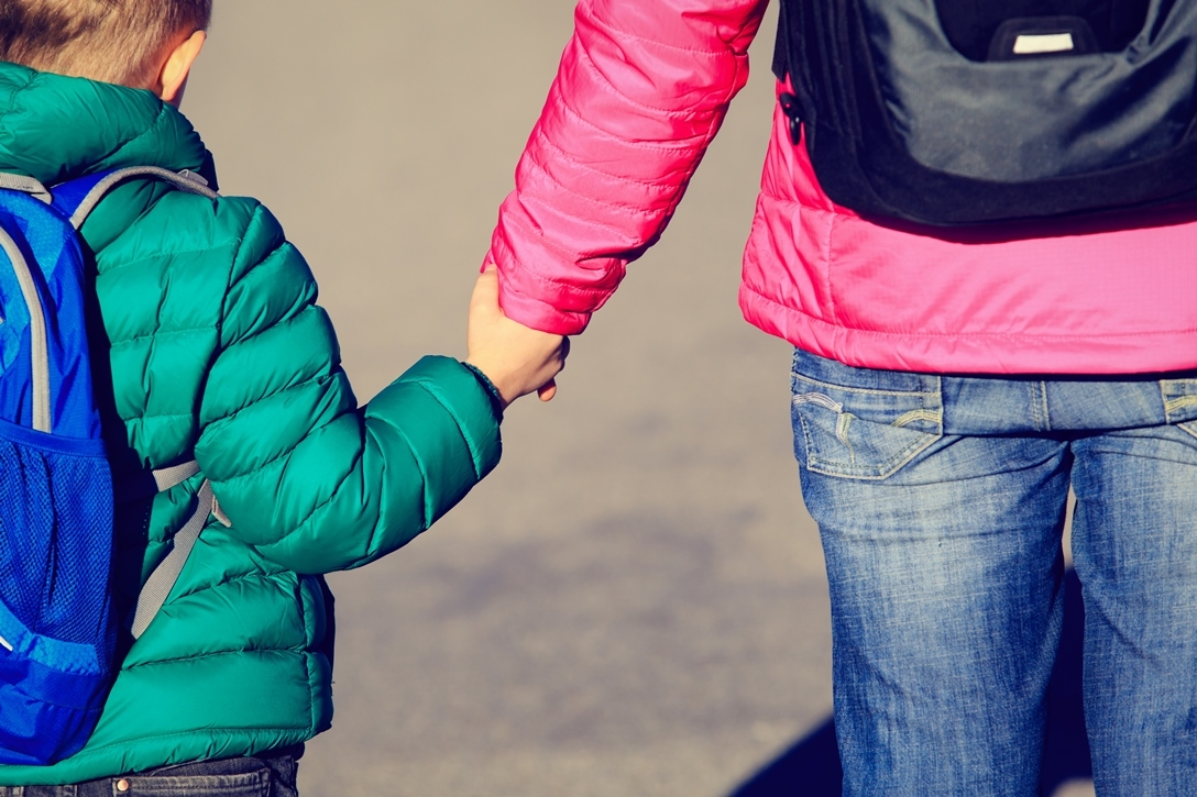 Child with mum