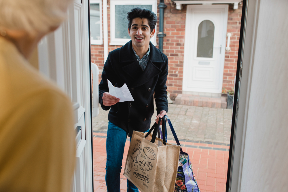 Home delivery groceries