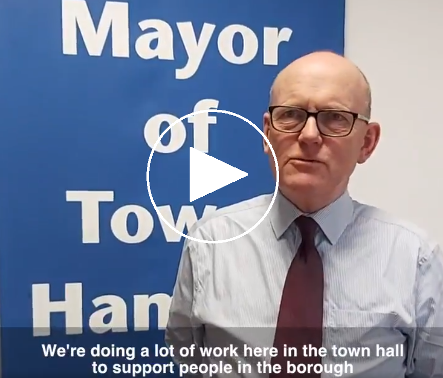 Mayor's video message to residents