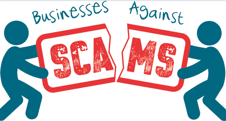 Businesses against scams