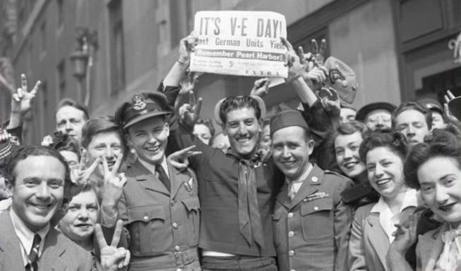 What happened on VE Day