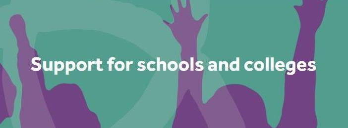 Support for schools and colleges