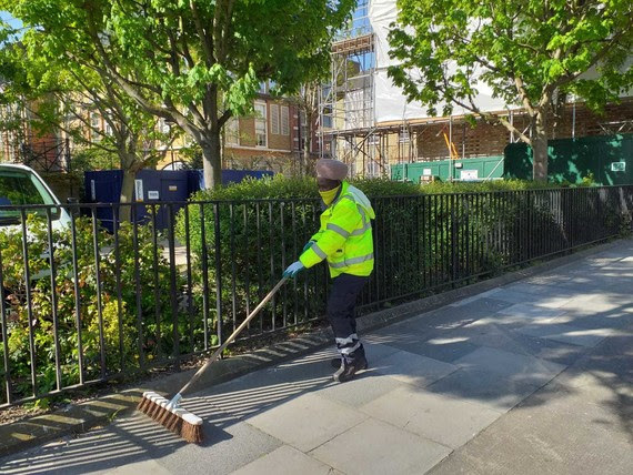 Keep borough clean and tidy