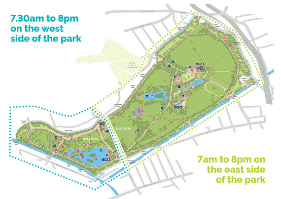 Victoria Park opening times