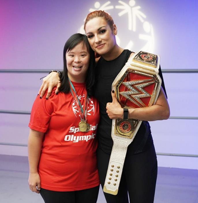 Olympics and WWE